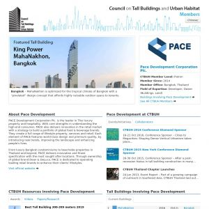 Pace Development Corporation Plc. Member Page