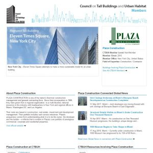 Plaza Construction Member Page