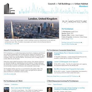 PLP Architecture Member Page