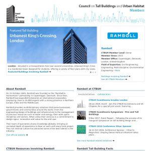 Ramboll Member Page