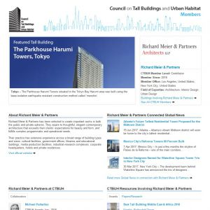 Richard Meier & Partners Member Page