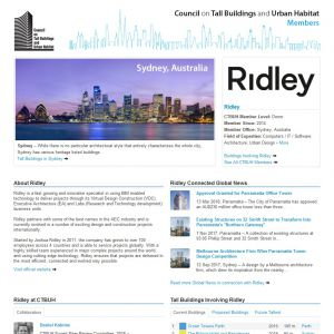 Ridley Member Page