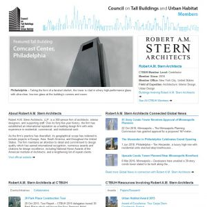 Robert A.M. Stern Architects Member Page