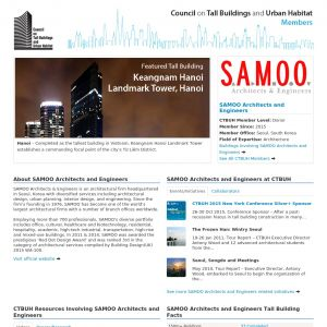 SAMOO Architects and Engineers Member Page