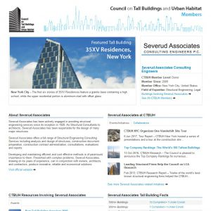 Severud Associates Consulting Engineers Member Page