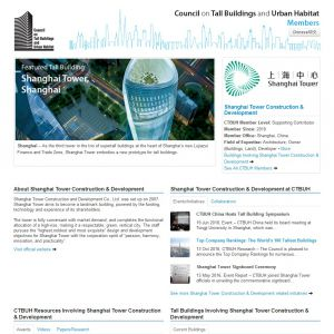 Shanghai Tower Construction & Development Member Page
