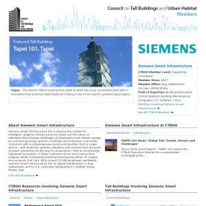 Siemens Member Page