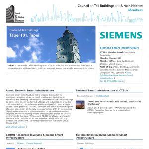 Siemens Smart Infrastructure Member Page