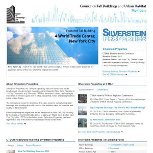 Silverstein Properties Member Page