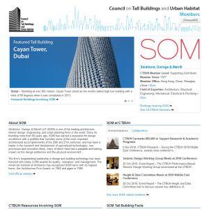 Skidmore, Owings & Merrill Member Page