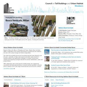 Stefano Boeri Architetti Member Page