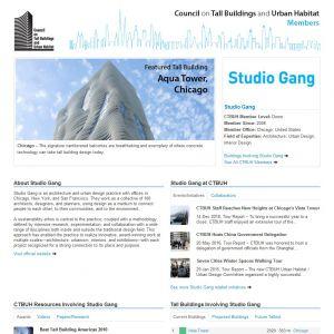 Studio Gang Member Page