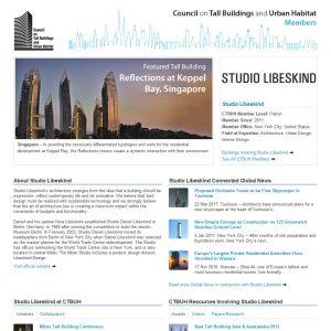 Studio Libeskind Member Page