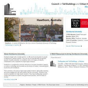 Swinburne University Member Page