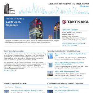 Takenaka Corporation Member Page