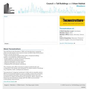 Tecnostrutture Member Page