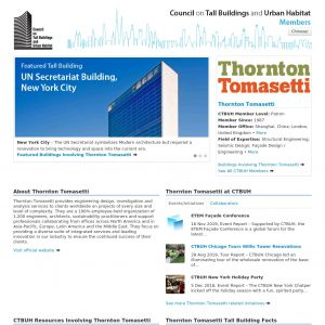Thornton Tomasetti Member Page