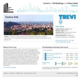 Trevi S.p.A. Member Page