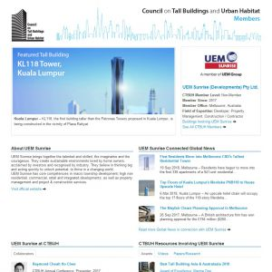 UEM Sunrise (Developments) Pty Ltd. Member Page