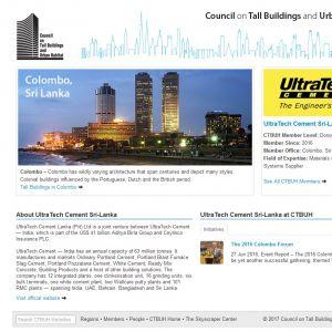 UltraTech Cement Sri-Lanka Member Page