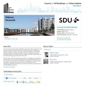 University of Southern Denmark Member Page