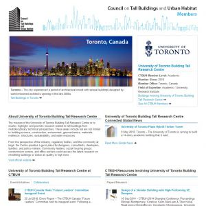 University Of Toronto The Skyscraper Center