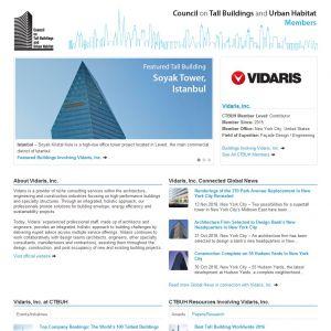 Vidaris, Inc. Member Page