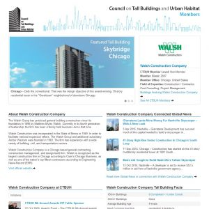 Walsh Construction Company Member Page