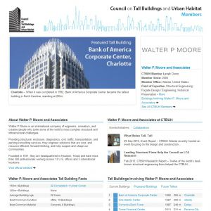 Walter P. Moore and Associates Member Page