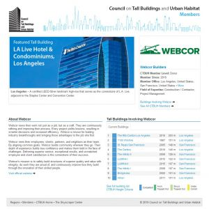 Webcor Builders Member Page