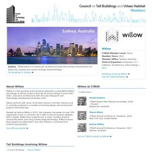 Willow Member Page