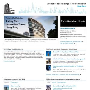 Zaha Hadid Architects Member Page