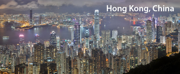 City In An Apaprtment Building Hong Kong