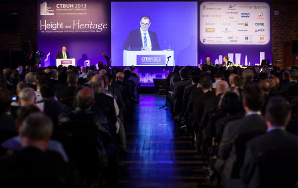 Activity at the CTBUH London Conference: Day One