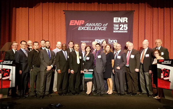 CTBUH Executive Director Honored as ENR Newsmaker in New York
